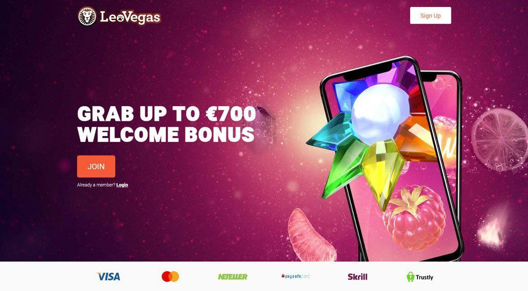 Leovegas online casino test