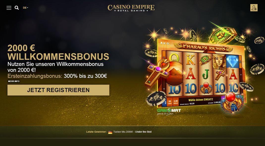 casino empire online test
