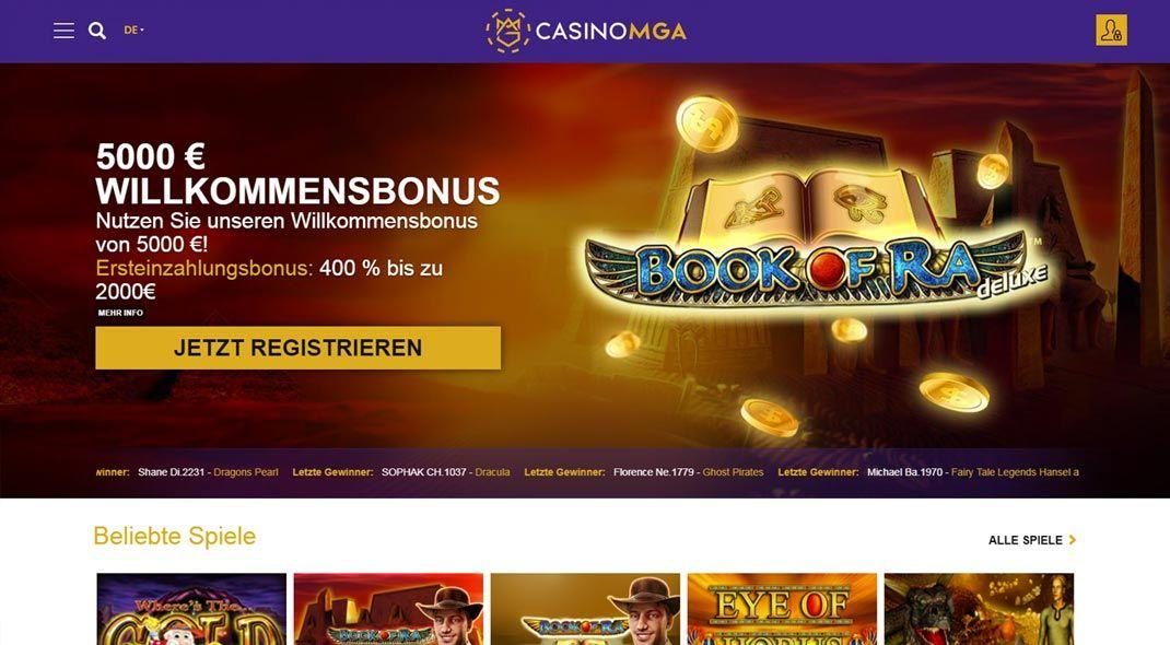 casino mga online test