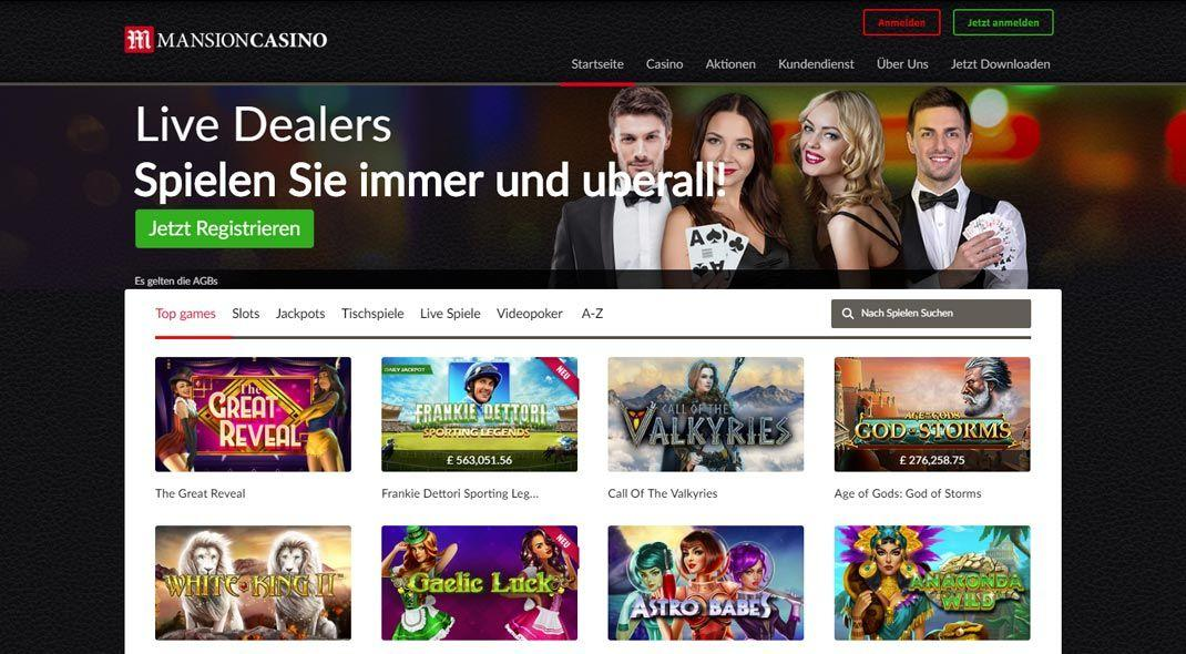 Mansion Casino im Test