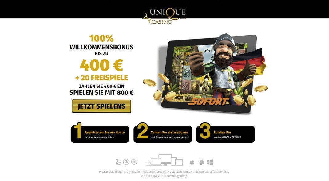 Unique Casino  online test