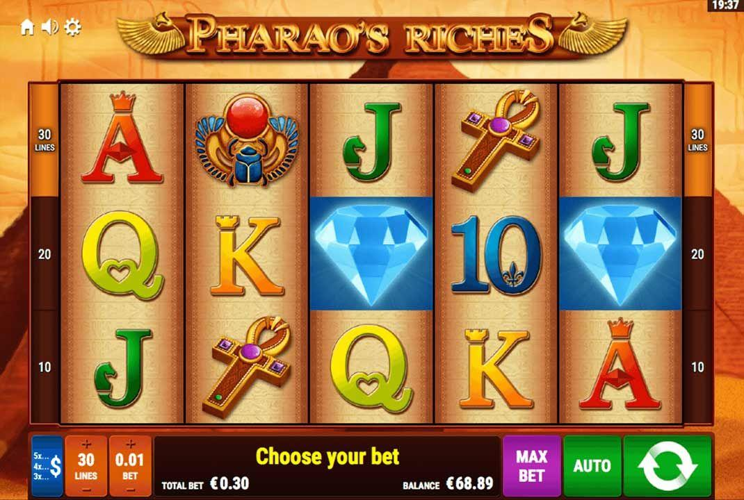 Pharaos Riches Spielautomate