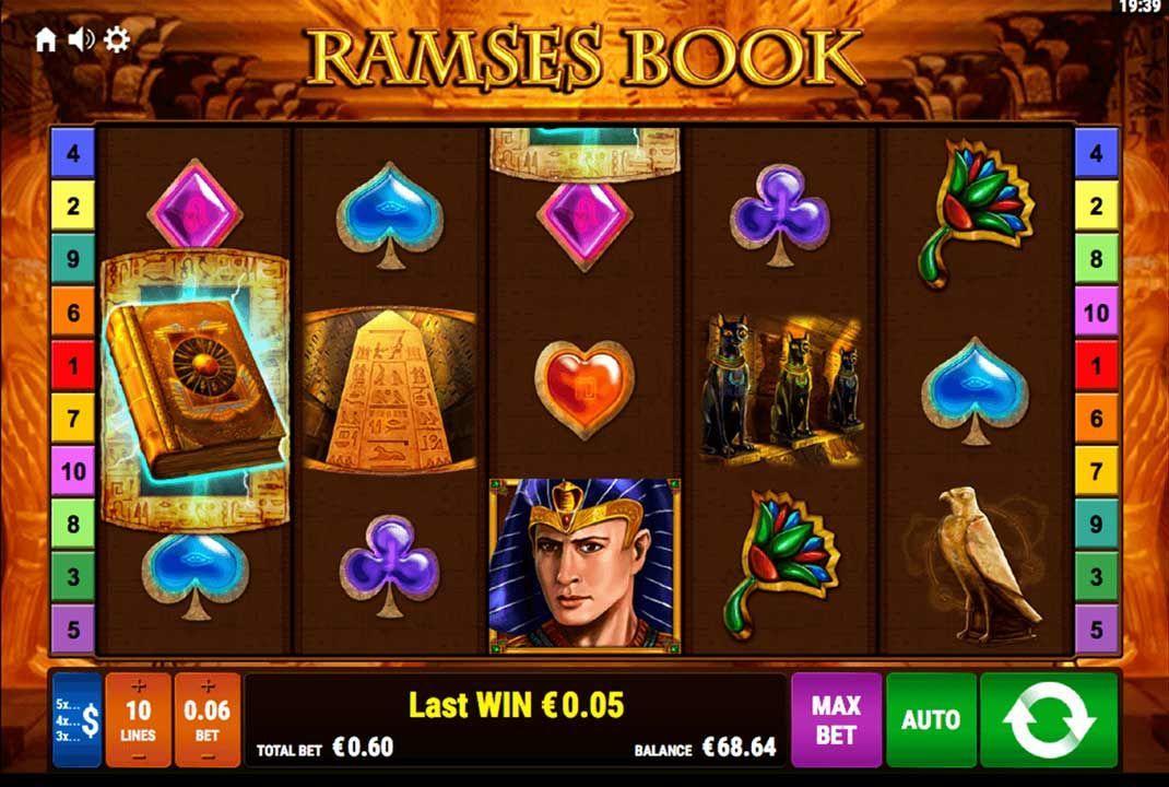 Ramses Book Spielautomate