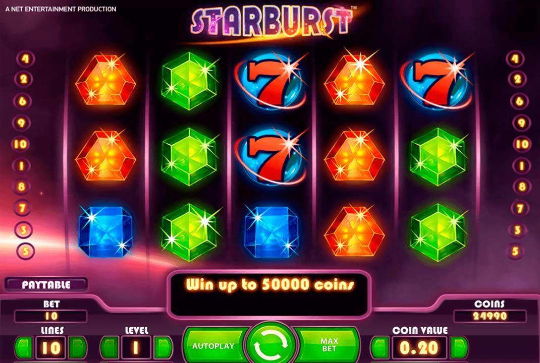 Starburst Spielautomate