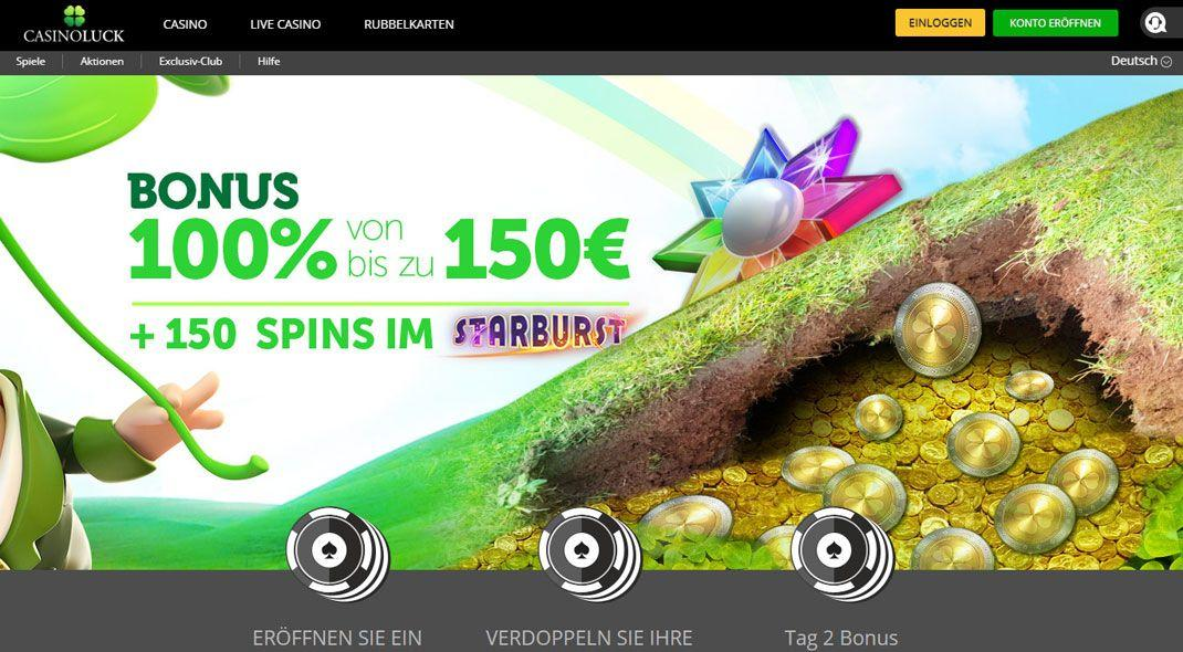 Casinoluck beste online casino