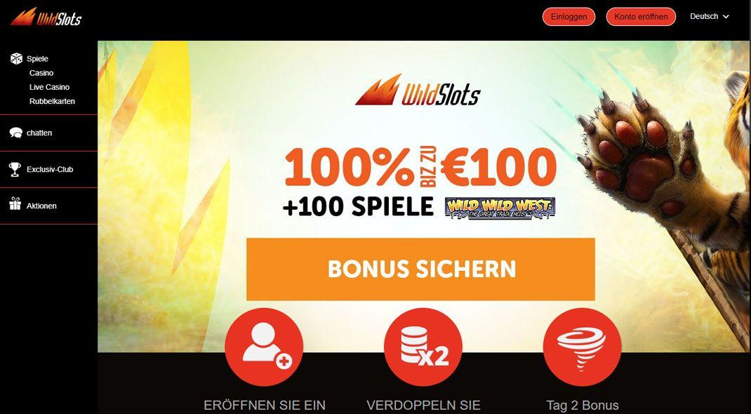 Besten German Wildslots Casino test