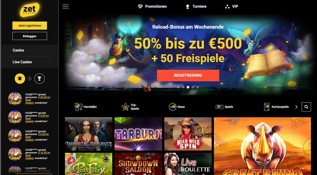 ZetCasino besten casino test