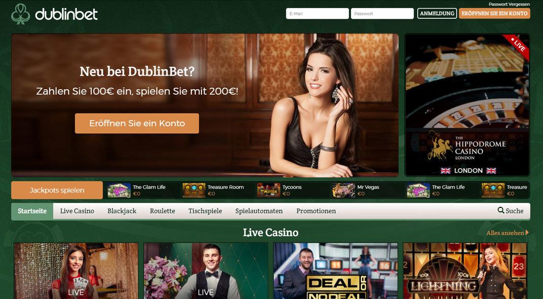 Dublinbet Online Casino test