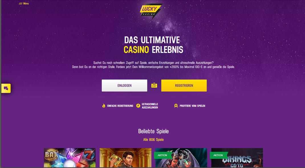 Lucky31  Online Casino test