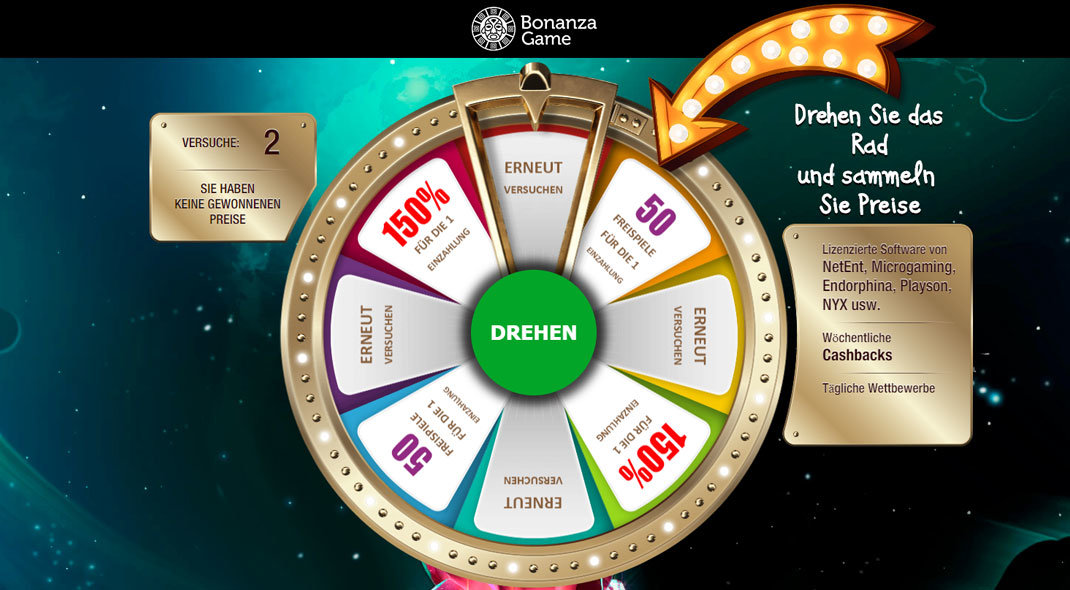 Funbonanza Online Casino test