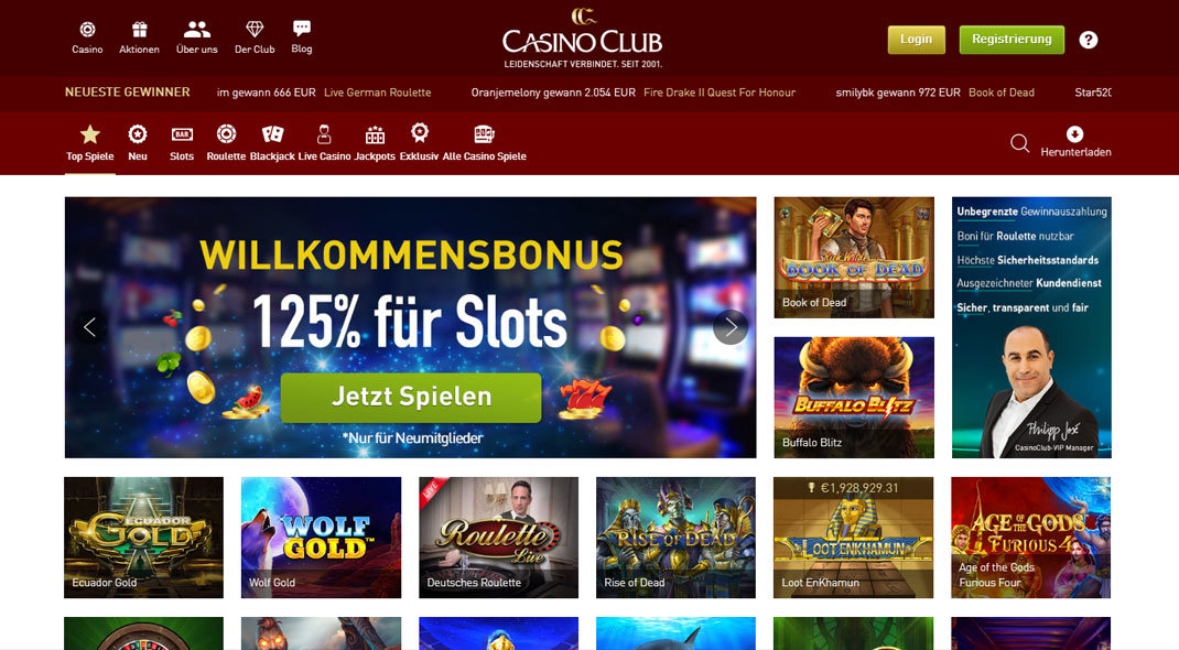 Online Casino Club test