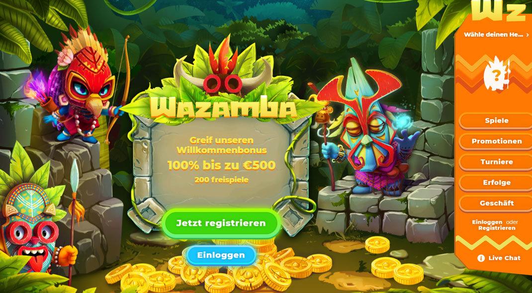 Wazamba Online Casino test