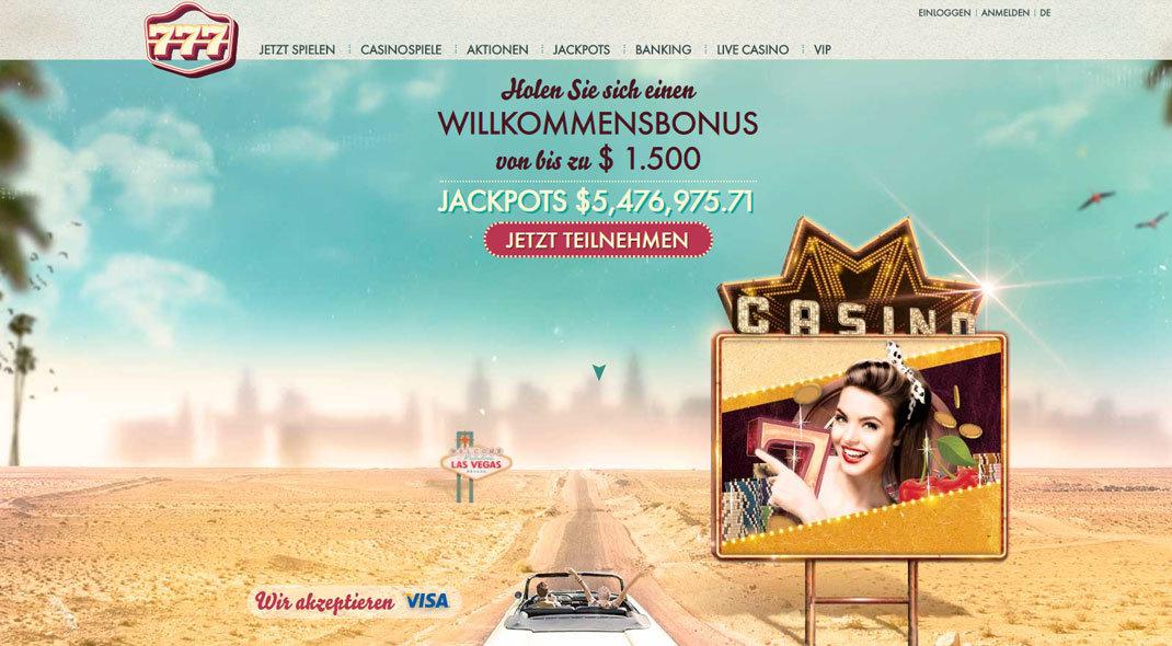777  Online Casino test