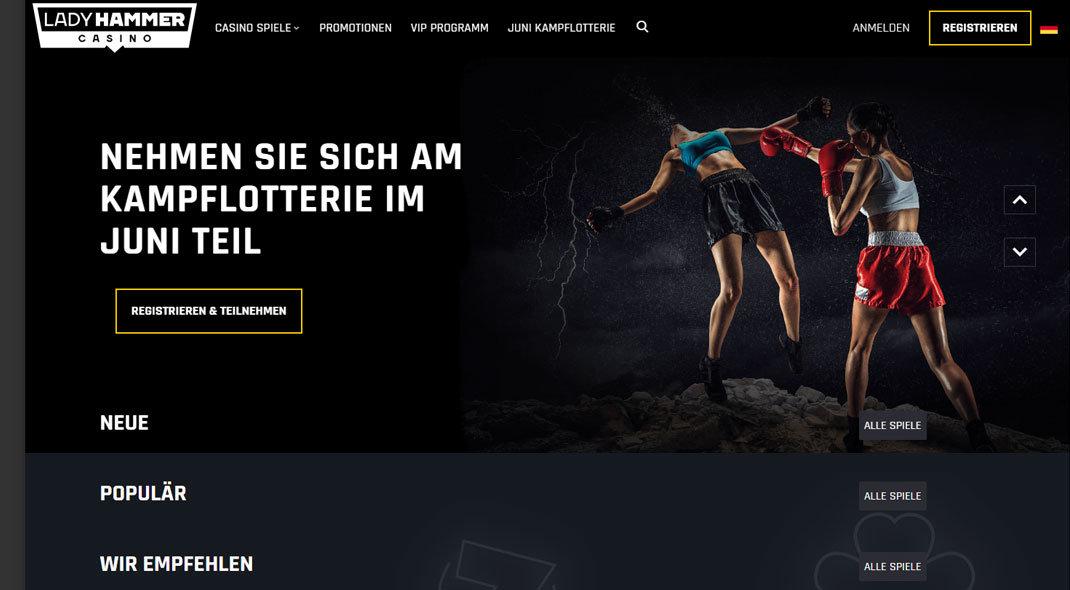 Ladyhammer Online Casino test