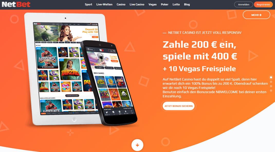 Netbet Online Casino test