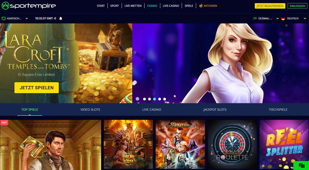 Sportempire Online Casino test