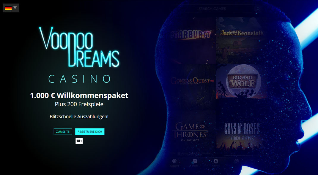 VoodooDreams Online Casino test