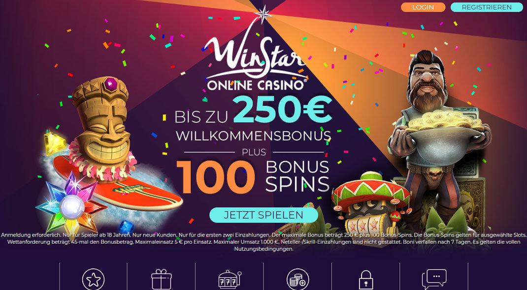 Winstar Online Casino test