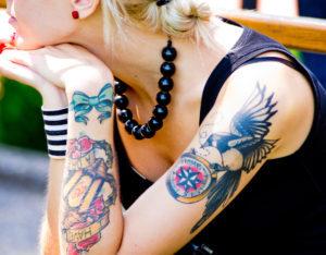Tattoo Glücksspielmotiv