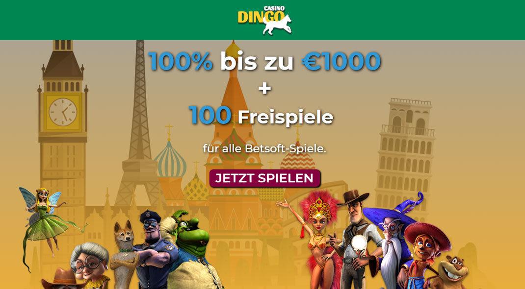 Online Casino Dingo test
