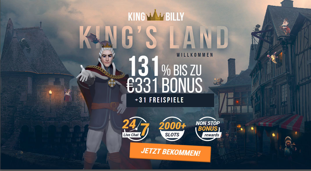King Billy Online Casino test