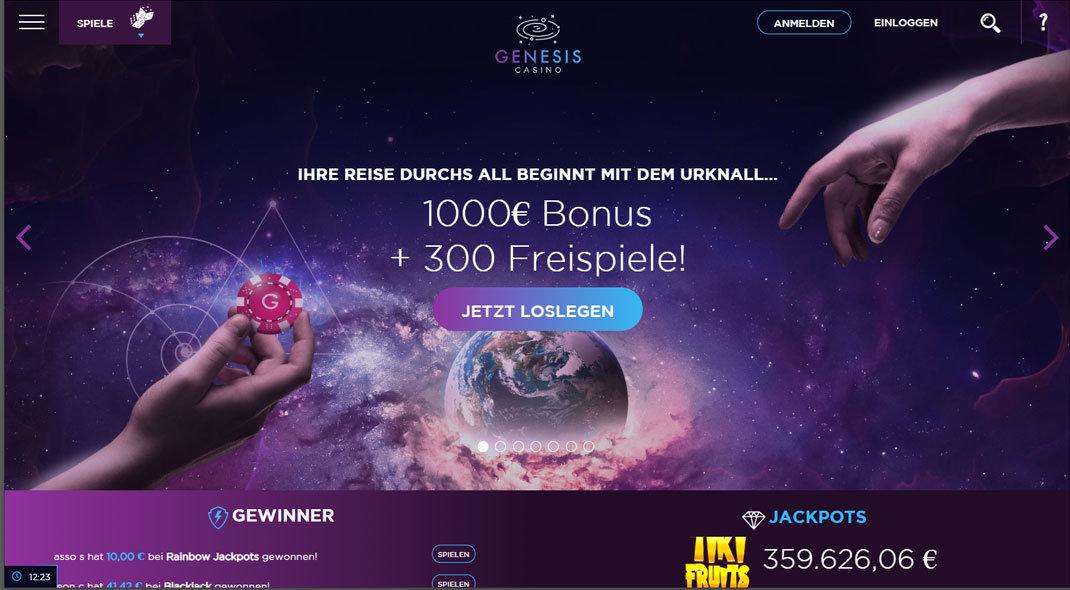 Genesis Online Casino test