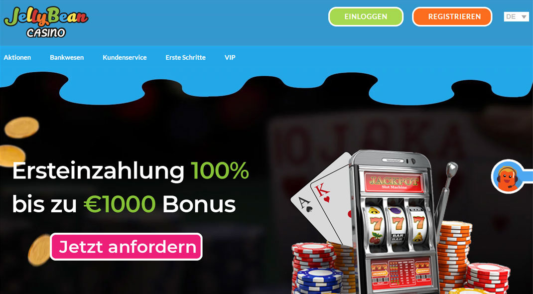 Jelly Bean Online Casino test