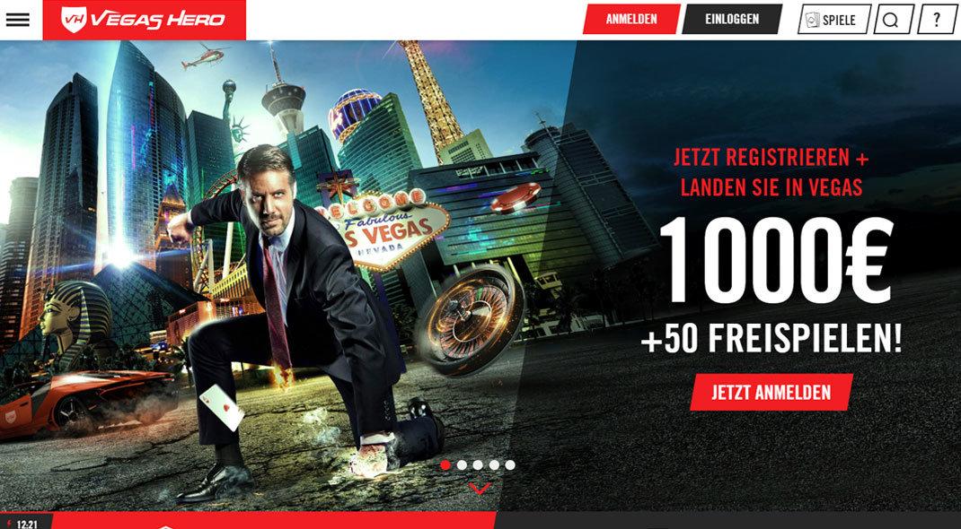 Vegas Hero Online Casino test