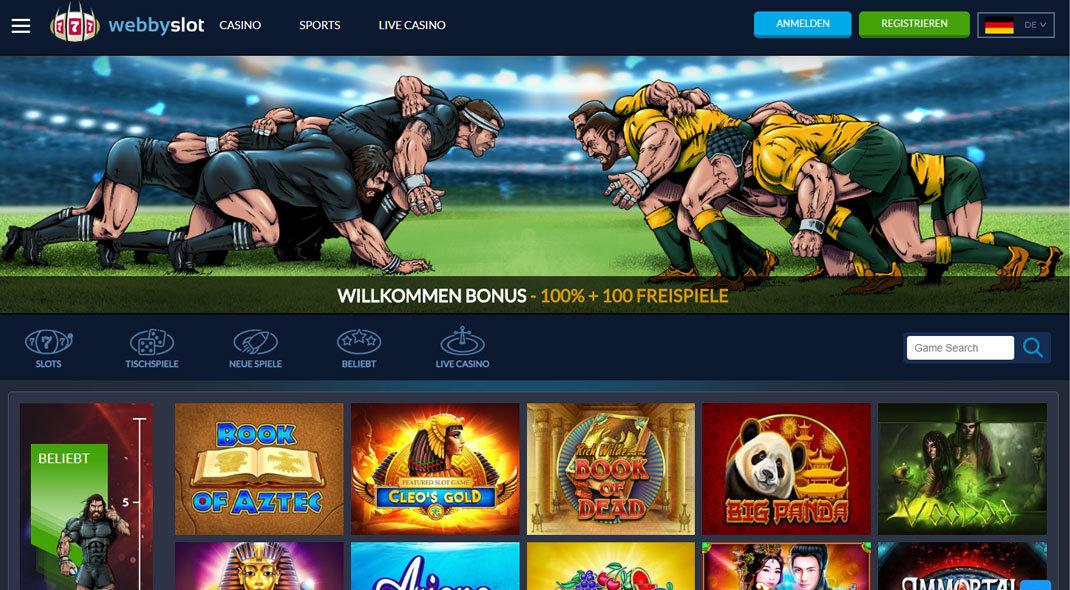Webby Slot Online Casino test