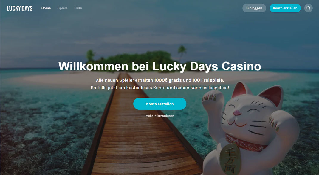 Lucky Days Online Casino test