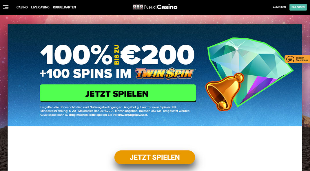 Next Online Casino test