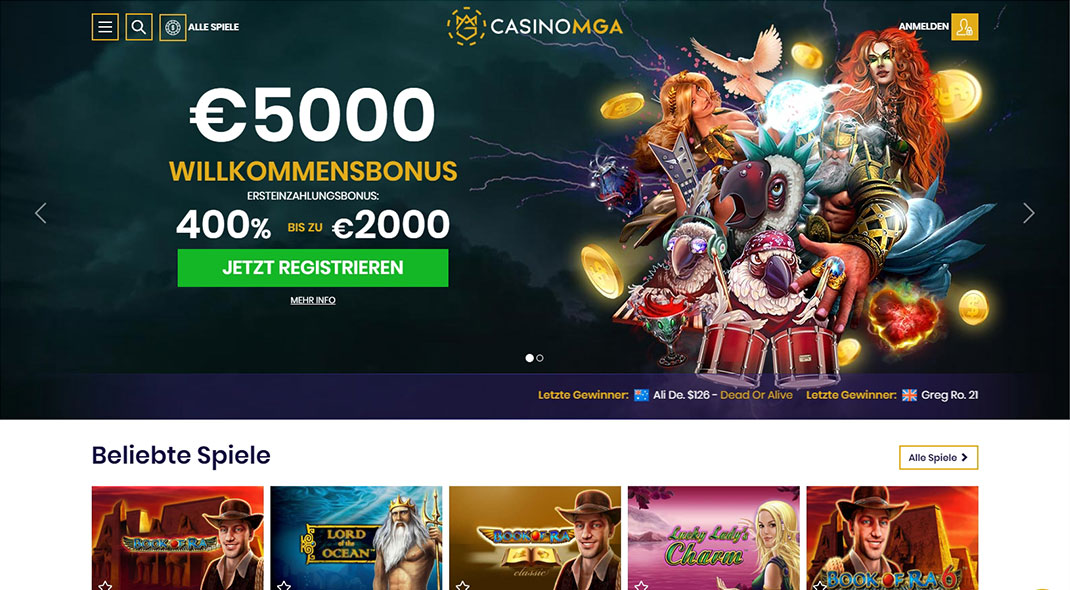 SpinUp Online Casino test
