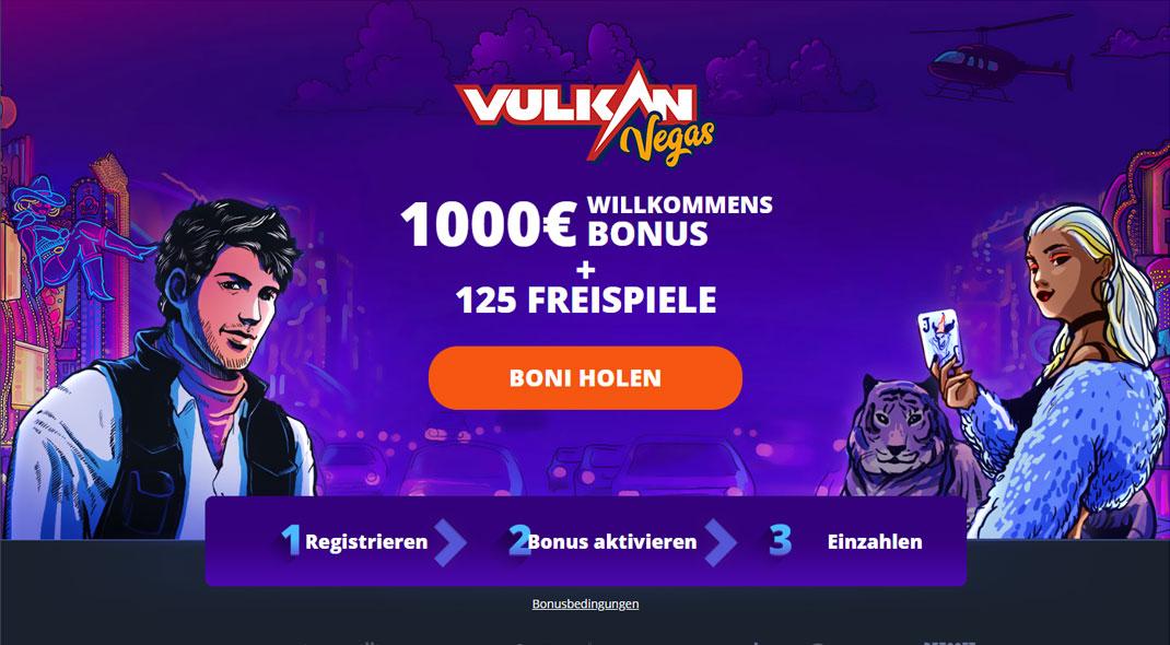 Vulkan Vegas Online Casino test