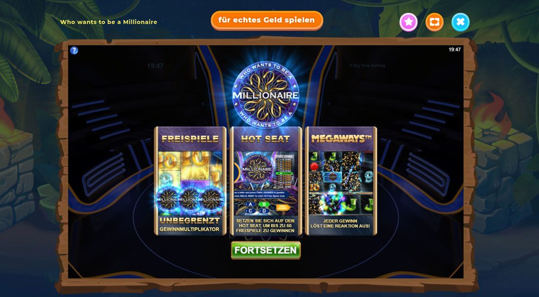 Millionaire Spielautomate