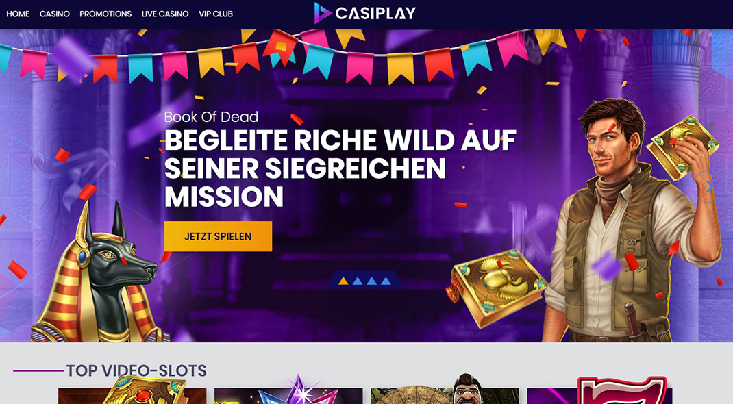 Casiplay Online Casino test