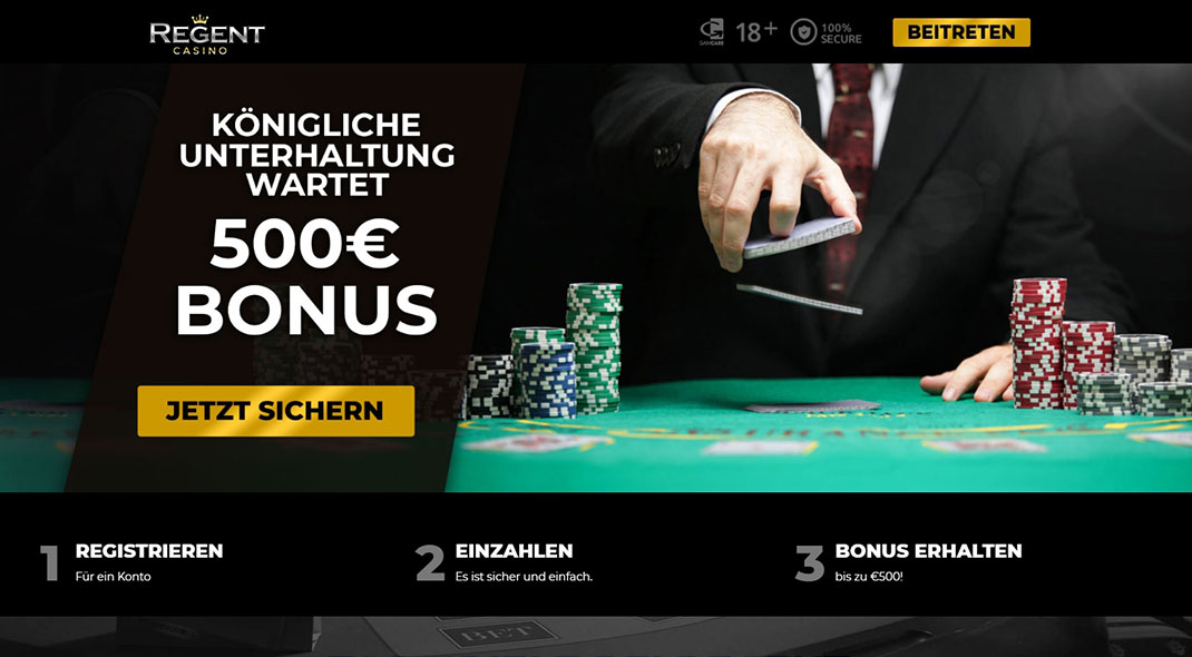 Regent Online Casino test