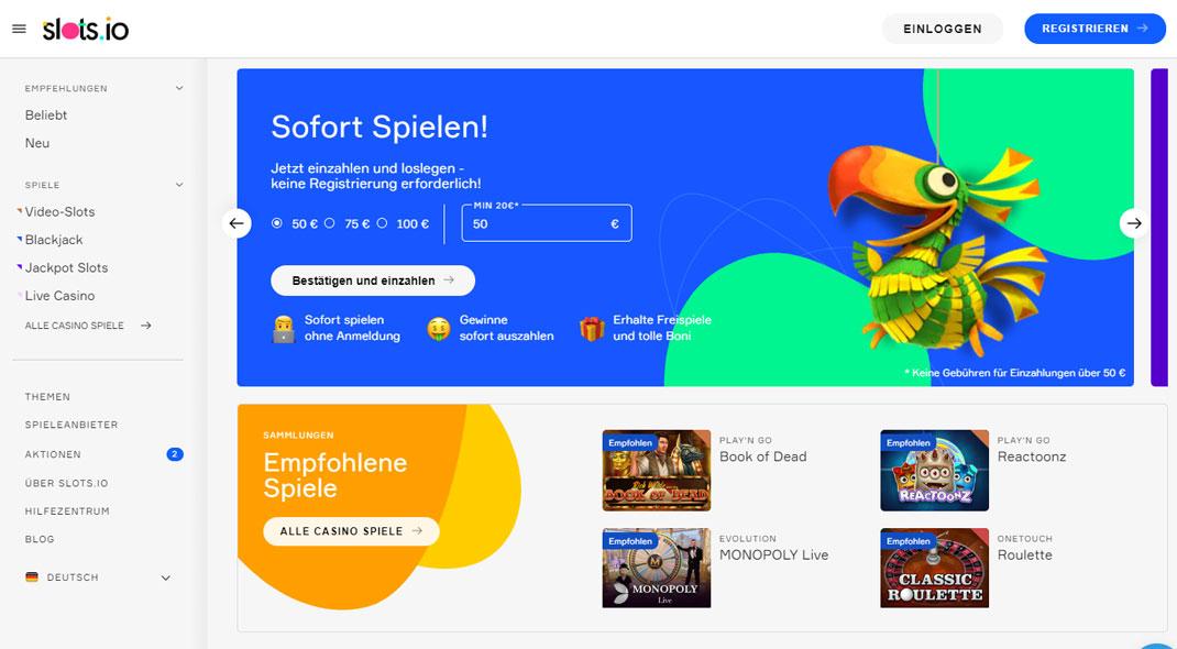 Slots.io Online Casino test