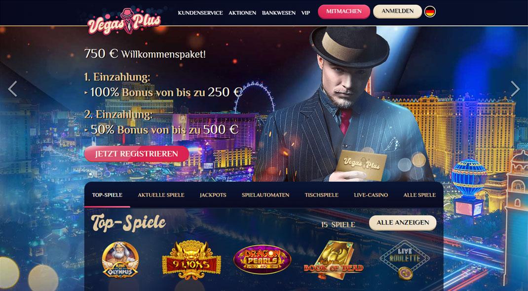 Vegasplus Online Casino test