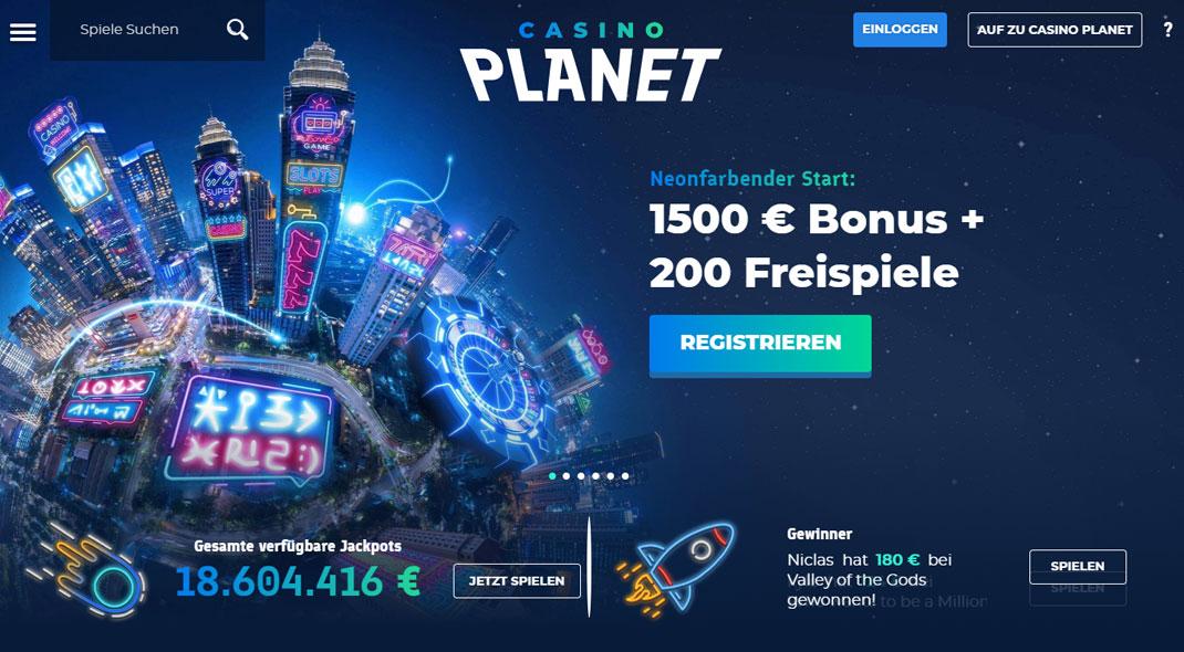 Casino Planet test