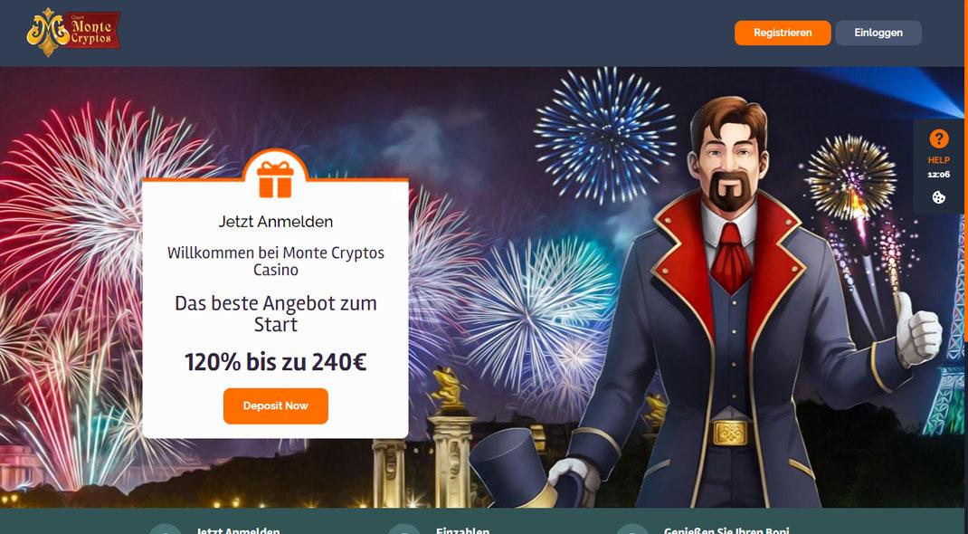 MonteCryptos Online Casino test