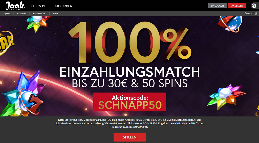 Jaak Online Casino test