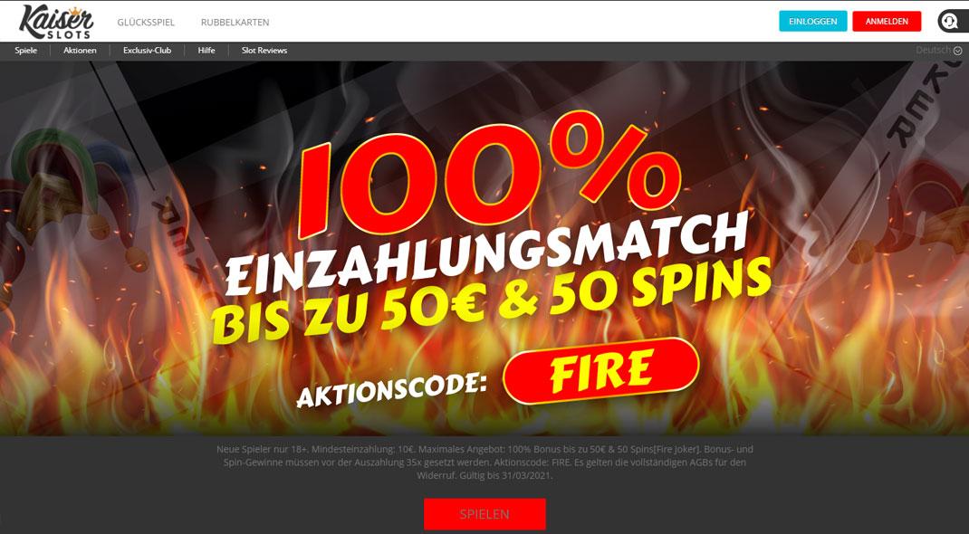 Kaiser Slots Online Casino test