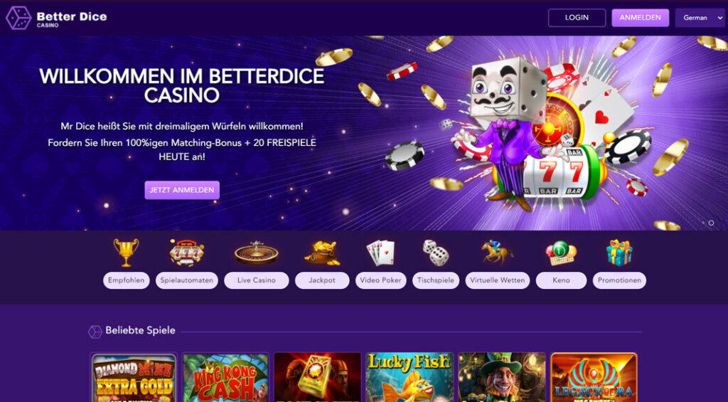BetterDice Casino Test