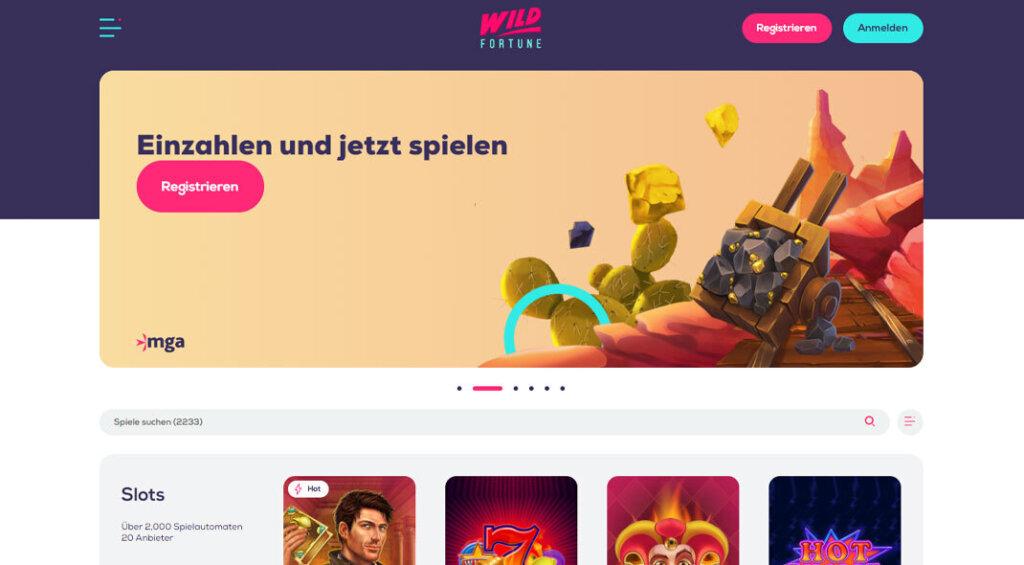 WildFortune Casino Test