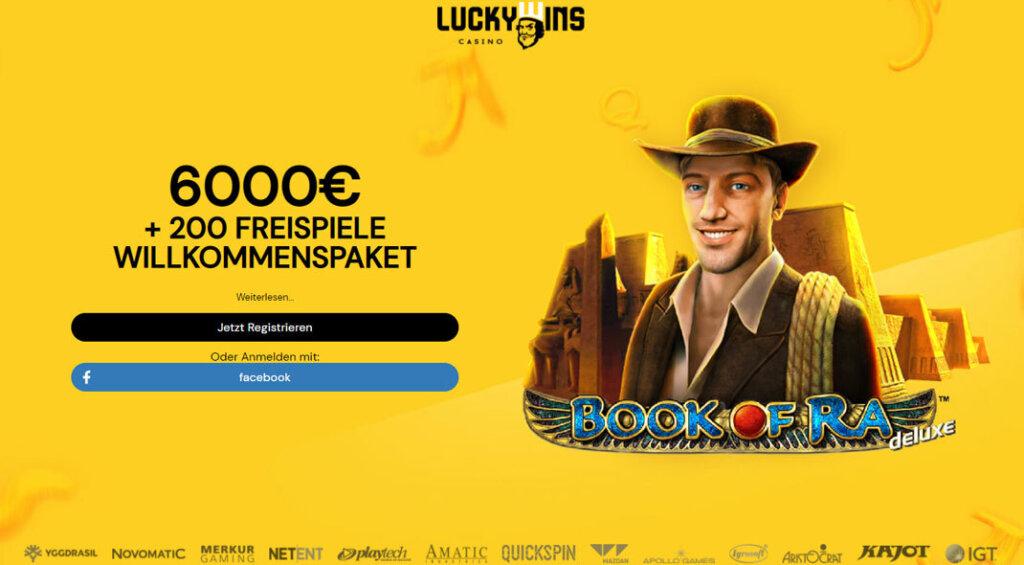 LuckyWins Casino Promo