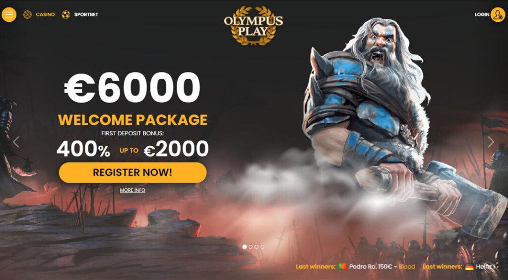 OlympusPlay Bonus