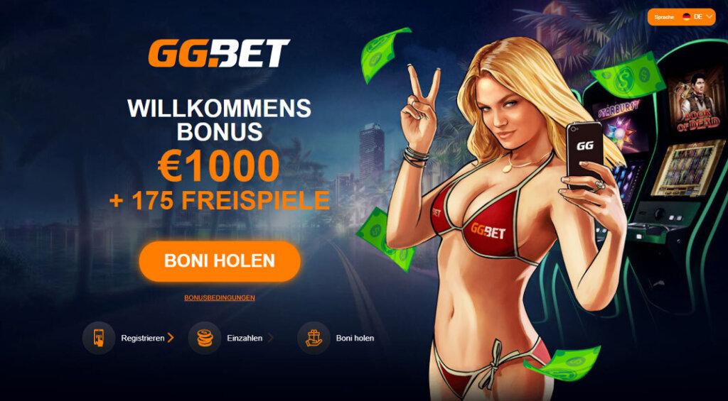 GG Bet Casino Angebot